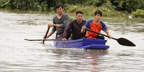 Mindestens 14 Tote bei Überschwemmungen