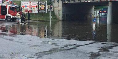 Überschwemmung Wien