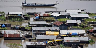 Überschwemmungen Indien