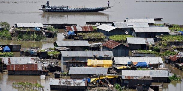 Überschwemmungen in Indien: 85 Tote