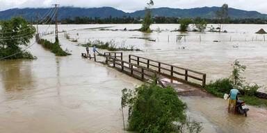 Überschwemmungen Vietnam