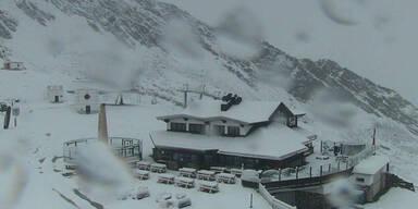 Irre: Schnee mitten im August