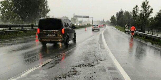 Starkregen hielt Tiroler Feuerwehren auf Trab