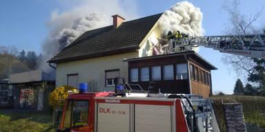 Wohnhausbrand Vasoldberg