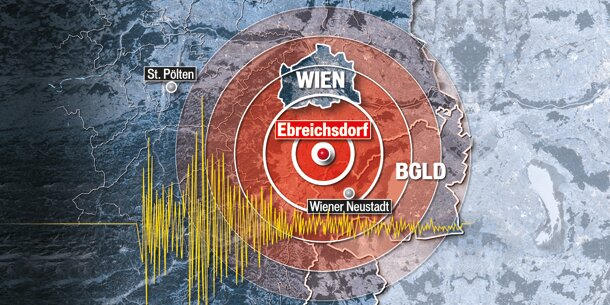 Leichtes Erdbeben in Wien