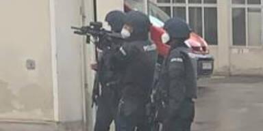 Großer Cobra-Einsatz nach Schüssen in Wien
