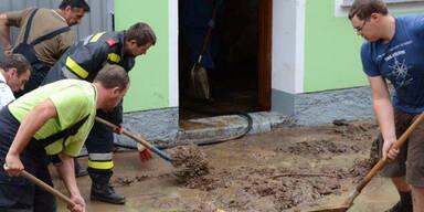Vermurungen in Raxendorf im Bezirk Melk