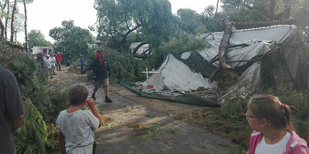 Tornado-Gewitter in Jesolo & Co. fordert dutzende Verletzte