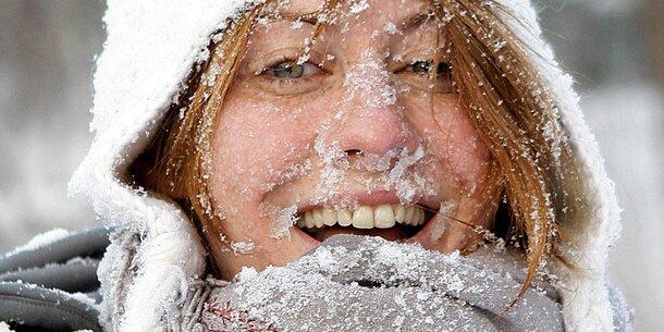 Schnee und Kälte: So wird das Wetter am Wochenende