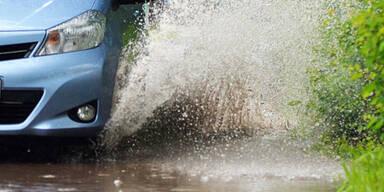 Hochwasser in Bad Aussee
