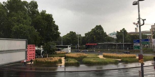 Jetzt kommen heftige Regenschauer und schwere Gewitter