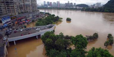 China Überschwemmungen