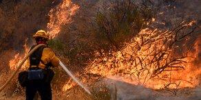 Flammenmeer verschluckt Teile Kaliforniens
