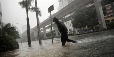 Hurrikan Miami Florida Irma