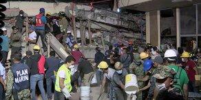 Neues schweres Beben erschüttert Mexiko-Stadt