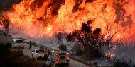 Waldbrände in Kalifornien wachsen weiter