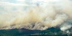 Waldbrände in Schweden nicht mehr zu löschen