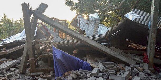 Erdbeben in Indonesien:Hunderte Wanderer sitzen auf Vulkan fest