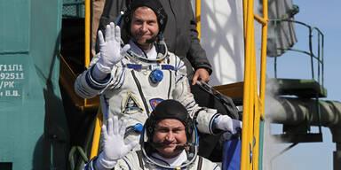 Sojus Besatzung Astronauten