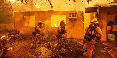 Waldbrände Kalifornien November 2018
