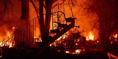 Kalifornien Paradise Waldbrand