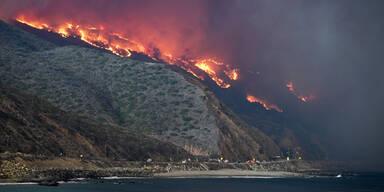 Kalifornien Malibu Waldbrände November 2018