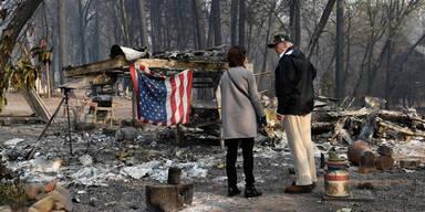 Trump Paradise Kalifornien Waldbrände