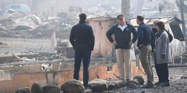 Trump Paradise Waldbrände Kalifornien