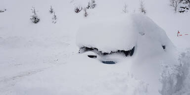 Schnee Mühlbach am Hochkönig Pongau Salzburg