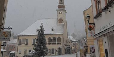 Schnee Mödling