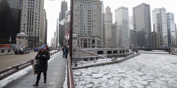 -34 Grad! Chicago ist kälter als Antarktis
