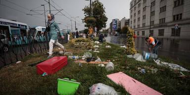 Istanbul Überschwemmungen