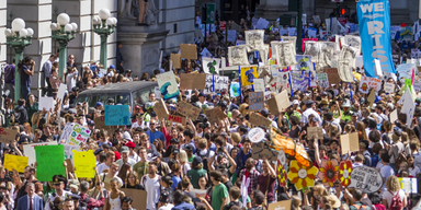 Klima-Streik New York und Mexiko