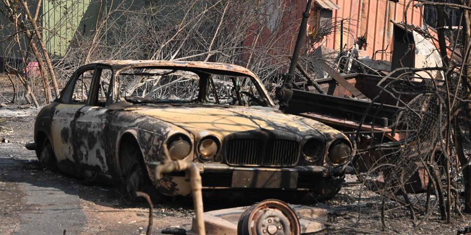 Waldbrände AUstralien Buschfeuer