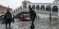 Venedig: 45 % des Stadtkerns überschwemmt