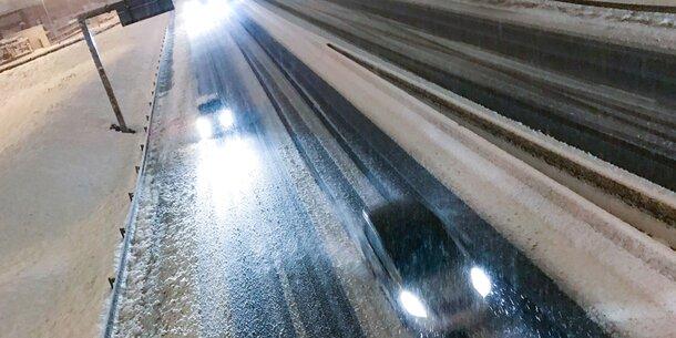 Schnee-Massen legen Frankreich lahm
