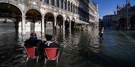 Hochwasser in Venedig soll weiter steigen
