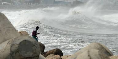 Zyklon AMphan Indien