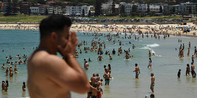 45,7 Grad: Mega-Hitzewelle in Australien