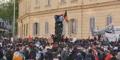 Palästina-Demo in Wien