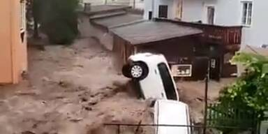 Hochwasser Hallein