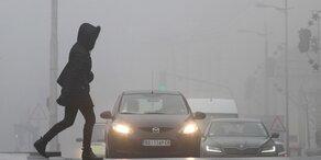 Winter-Smog hat den Balkan fest im Griff