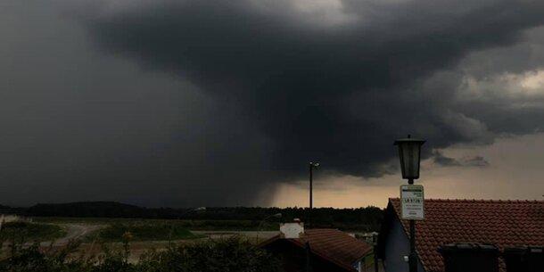 Starke Unwetter im steirisch-kärntnerischen Grenzgebiet