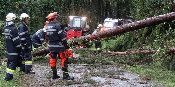 Steiermark: Unwetter sorgen für Chaos