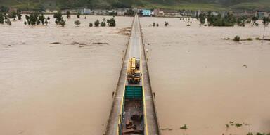 Überschwemmung Nordkorea