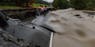 Schwere Unwetter wütetet in Salzburg