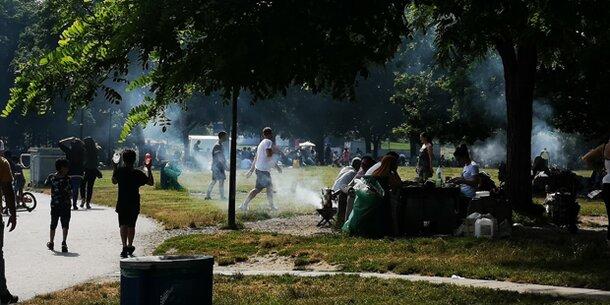 Grill- & Rauchverbot in Wien verhängt