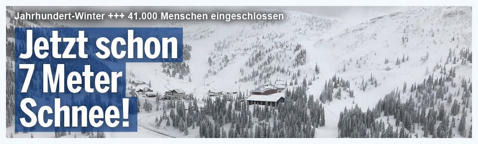 Nächster Schnee-Toter: Steirer stirbt unter Dachlawine