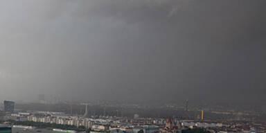 Tornado über Wien