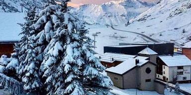 Schnee Lech-Zürs am Arlberg